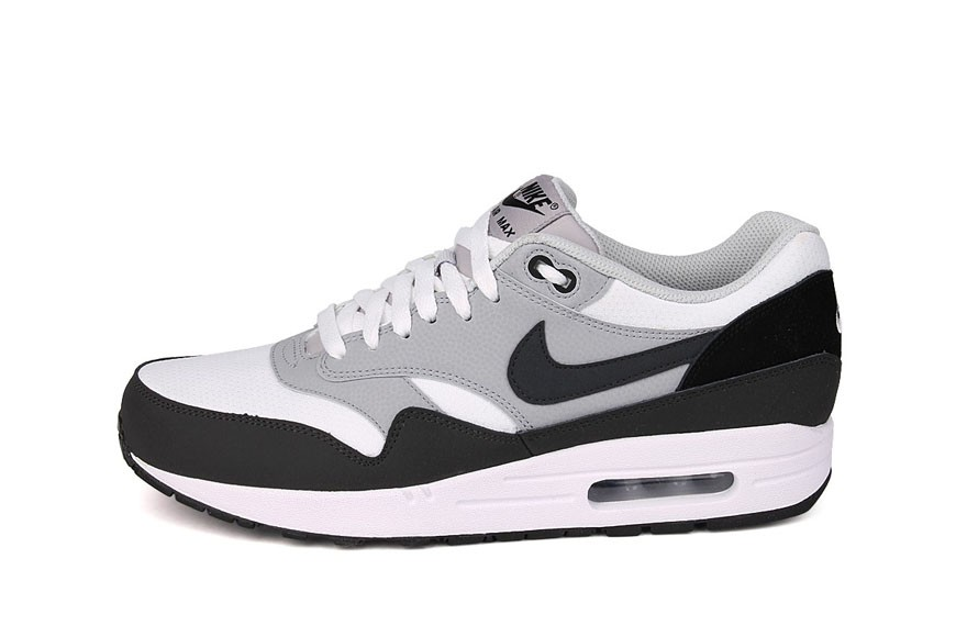Nike Air Max 1 Essential Anthracite Grey Wolf Grey White Men's Shoe