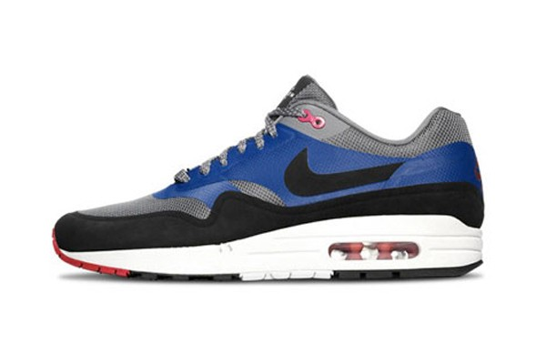 Nike Air Max 1 Hyperfuse London 'Home Turf' Grey Royal Blue Black Fuchsia Men's Shoe