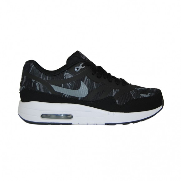 Nike Air Max 1 Premium Tape Camo Black Cool Gray White Men's Casual Running Shoe