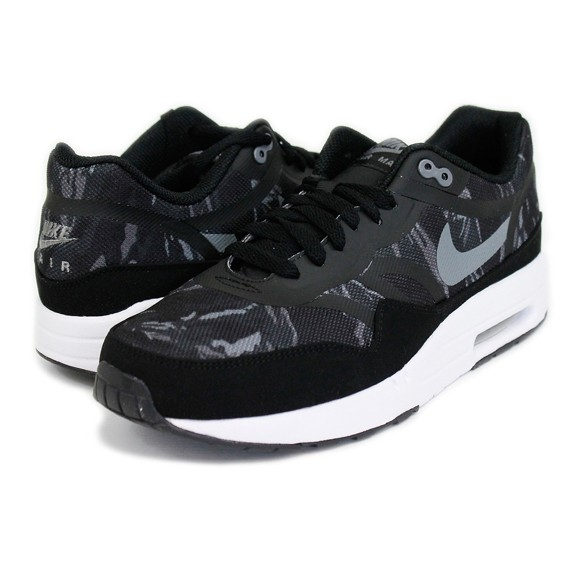 size 40 ee1cc 23fd8 cheap nike air max 1 premium tape camo black cool gray white mens casual running  shoe