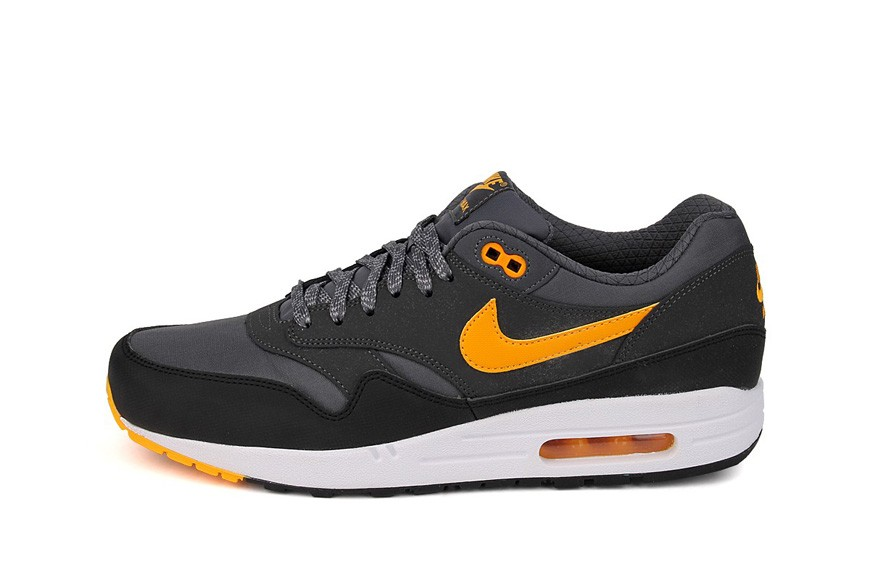 Nike Air Max 1 Essential Dark Grey Laser Orange Men's Shoe