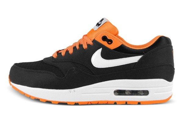 Nike Air Max 1 Premium Venom (Hypervenom) Black Bright Citrus Men's Casual Running Shoe