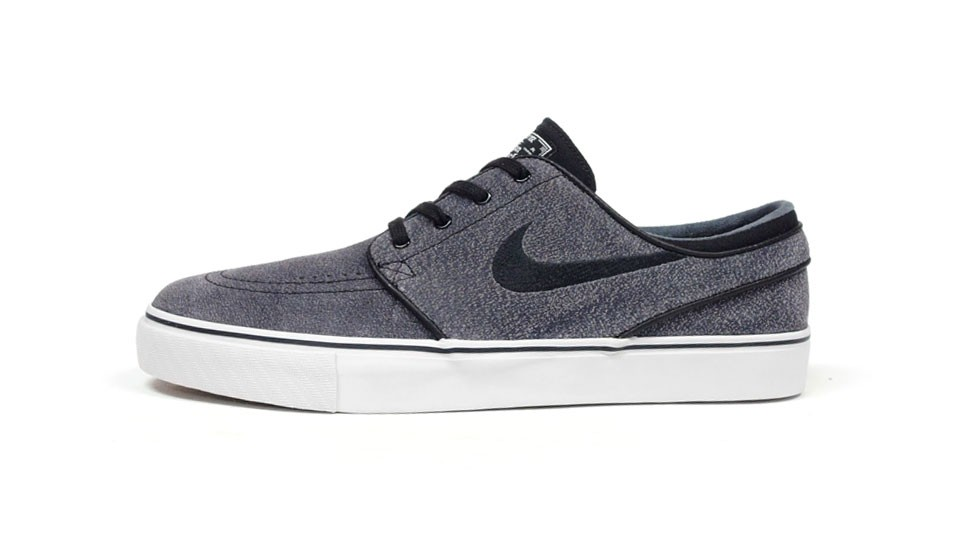 Nike SB Zoom Stefan Janoski Low Grey Black Men's Skateboarding Shoes