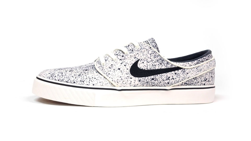Nike SB Zoom Stefan Janoski Low Premium White Black Men's Skateboarding  Shoes