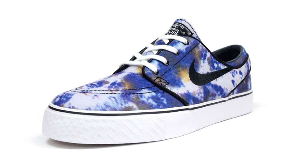 Nike SB Zoom Stefan Janoski Low 678472-104 Purple Black White Men's Skateboarding Shoes