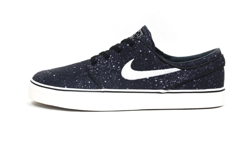 Nike SB Zoom Stefan Janoski Low Premium 375361-012 Black White Men's Skateboarding Shoes