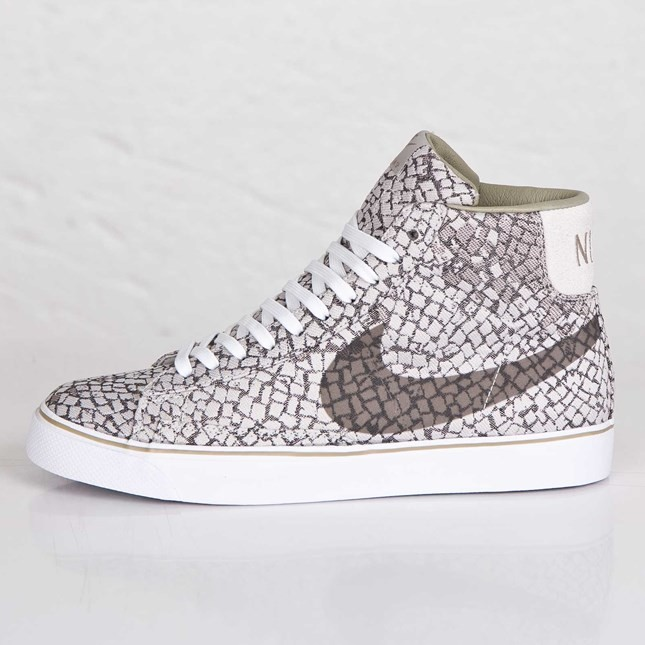 Nike Blazer Zoom Hi JCRD SP Sao Paulo 693207-021 Light Iron Ore Bamboo White Men's Shoe