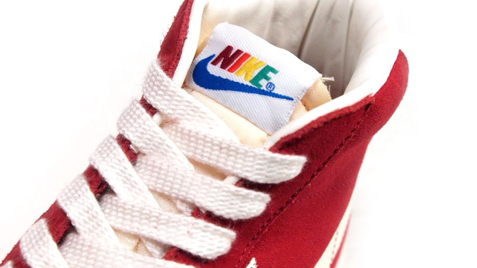 Nike Blazer Mid Premium Vintage QS Rainbow Pack 638322-600 Red White Multicolor Sneakers