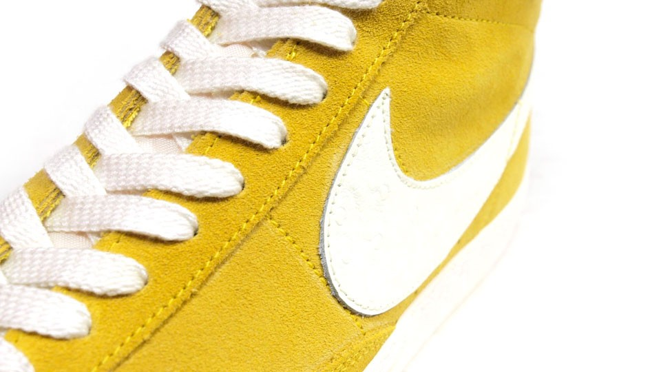 Nike Blazer Mid Premium Vintage QS Rainbow Pack Yellow White Multicolor Sneakers
