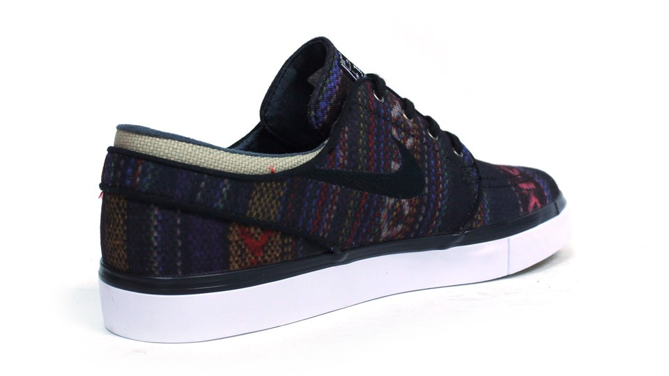 Nike SB Zoom Stefan Janoski Low Premium 375361-901 Midnight Navy Multicolor Men's Skateboarding Shoes