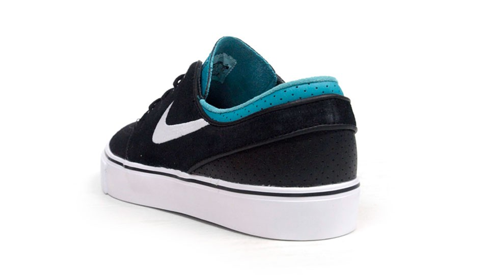 Nike SB Zoom Stefan Janoski Low 333824-019 Black Blue White Men's Skateboarding Shoes