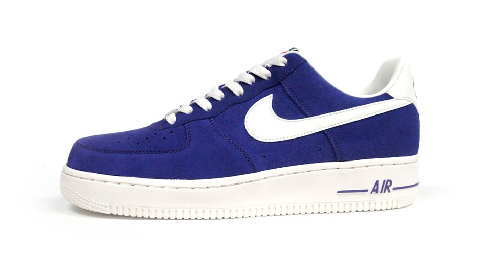 Nike Air Force 1 Low 07 Blazer Pack 488298-501 Purple White Mens Basketball Shoes