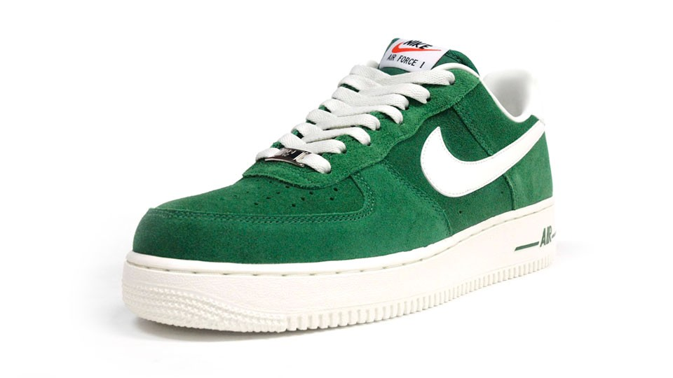 Nike Air Force 1 Low 07 Blazer Pack 488298-308 Green White Mens Basketball Shoes