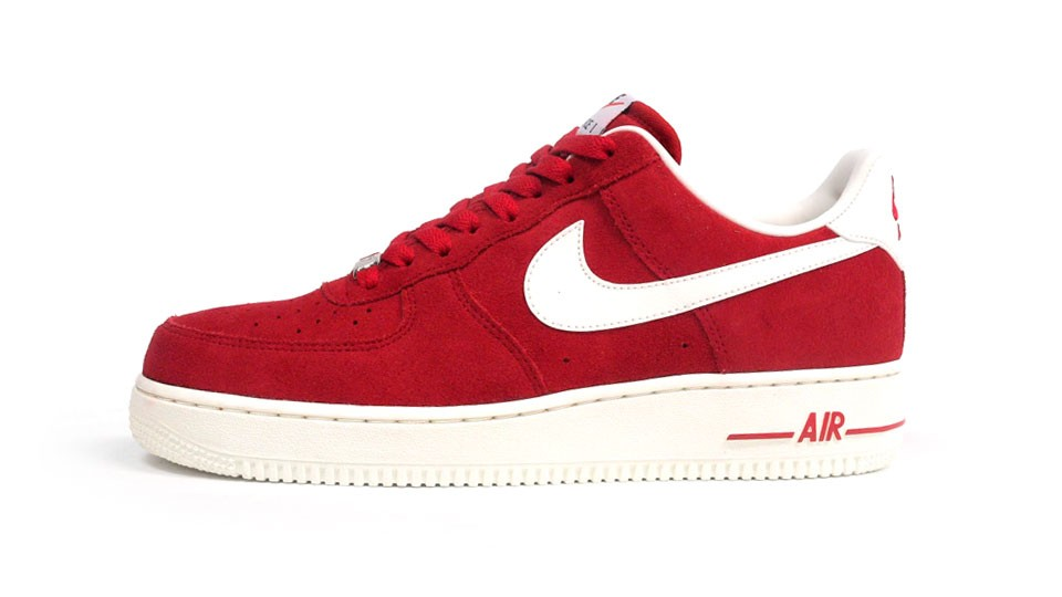 Nike Air Force 1 Low 07 Blazer Pack 488298-607 Red White Mens Basketball Shoes