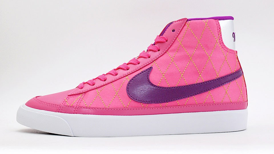 Nike WMNS Blazer Mid 09 ND 375573-602 Pink Purple Womens Shoes