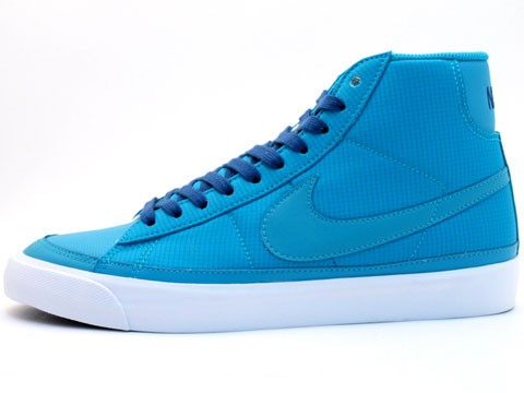 Nike WMNS Blazer Mid 09 ND 371761-300 Sax Blue Navy Womens Shoes