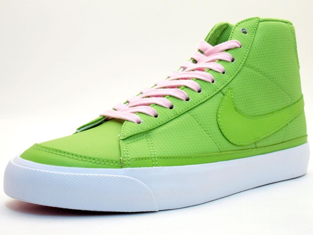 Nike WMNS Blazer Mid 09 375573-300 Green Pink Womens Shoes