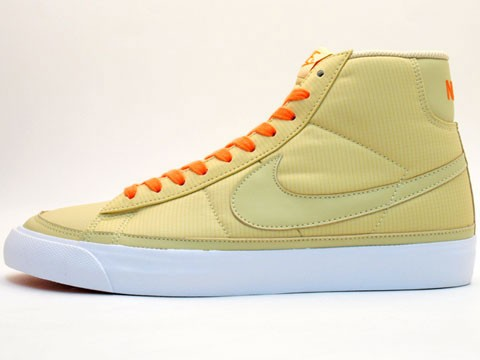 Nike WMNS Blazer Mid 09 ND 371761-900 Beige Orange Womens Shoes