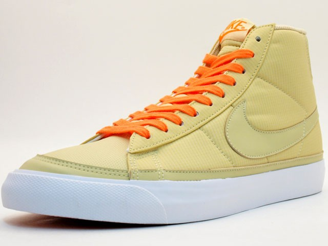 Nike Blazer Mid 09 ND 371761-900 Beige Orange Men's Shoe