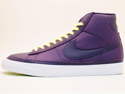 Nike WMNS Blazer Mid 09 ND 371761-500 Purple Neon Yellow Womens Shoes