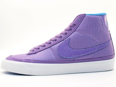 Nike WMNS Blazer Mid 09 375573-551 Purple Blue White Womens Shoes