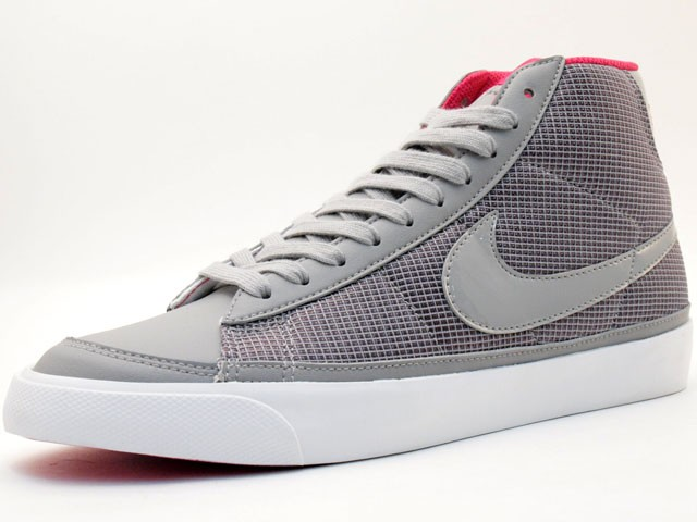 Nike WMNS Blazer Mid 09 371761-005 Grey Pink White Womens Shoes