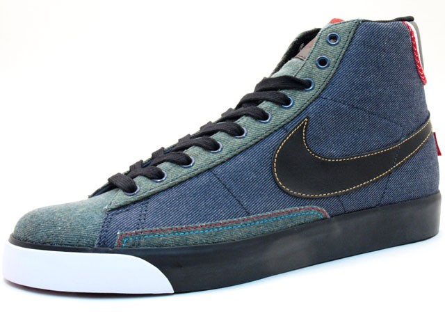 Nike Blazer Mid High Premium - Selvage Denim Pack 366962-401 Men's Shoe
