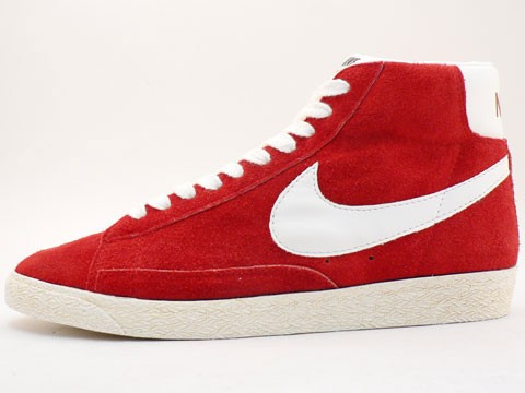 nike blazer high mens red