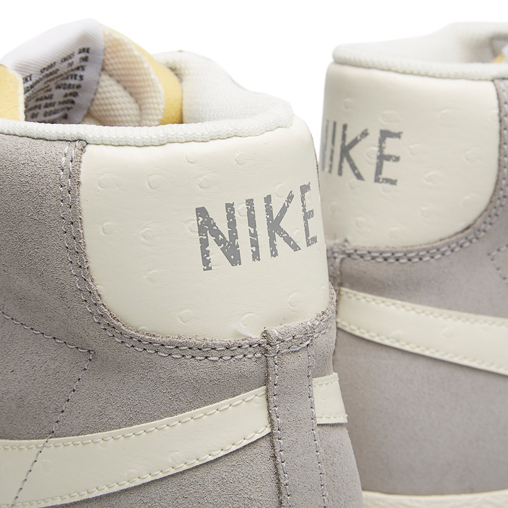 Nike WMNS Blazer Mid Prm Vntg 638261-006 Wolf Grey Sail White Womens Trainers