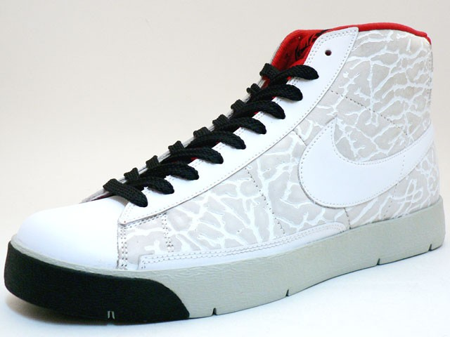 Nike Super Blazer Hi Premium ND Hybrid Concept Elepahant 316382-111 White Red Men's Shoe