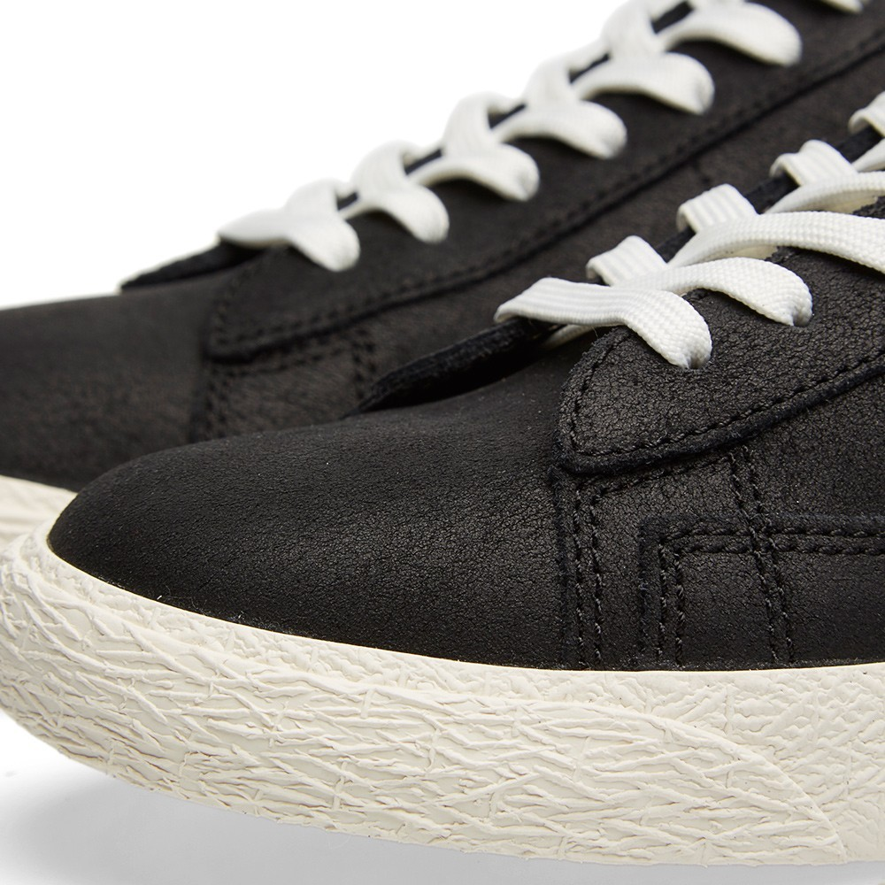 Nike Blazer Mid Prm Vntg 638261-008 Black Sail Men's Shoe