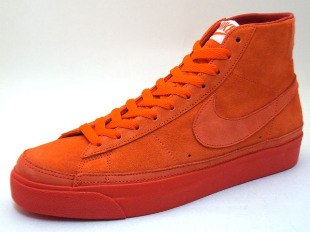Nike Blazer High Premium QK NBA Pack Atlanta 346725-881 Orange Men's Shoe