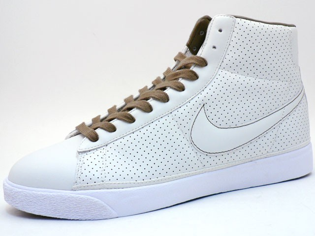 Nike Star Classic High 324666-111 Nat White Brown Men's Shoe