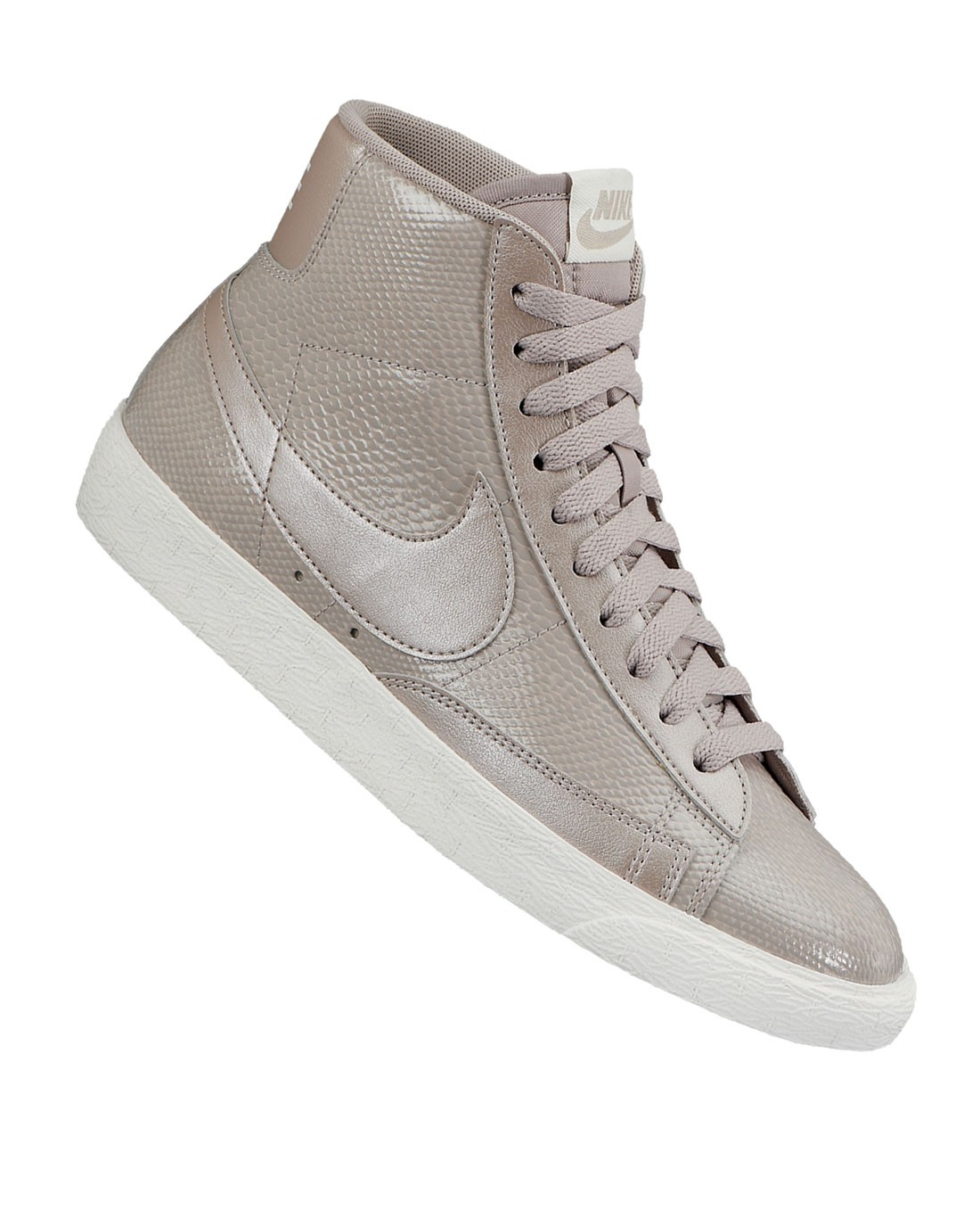 Nike WMNS Blazer Mid Leather Premium (Ltr Prm) 685225-100 Orewood Brown White Women's Shoe