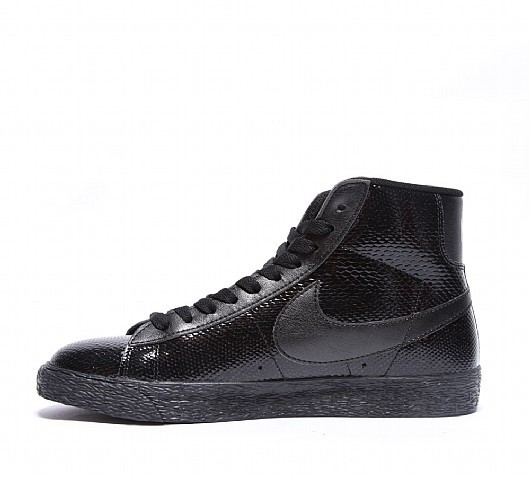 Nike Blazer Mid Leather Premium (Ltr Prm) 685225-001 Black Men's Shoe