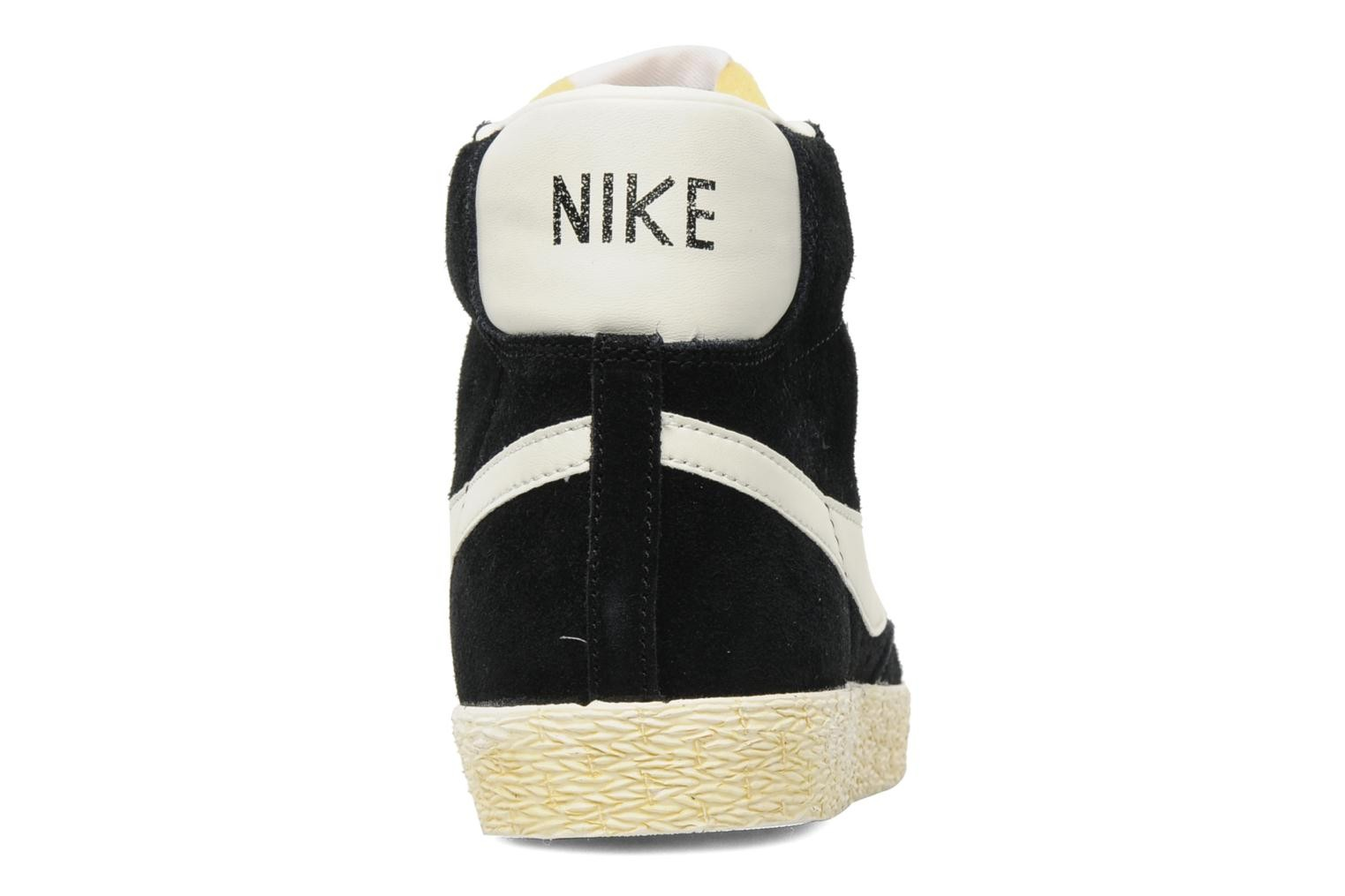 Nike WMNS Blazer High Vintage Black Sail Womens Laced Trainers