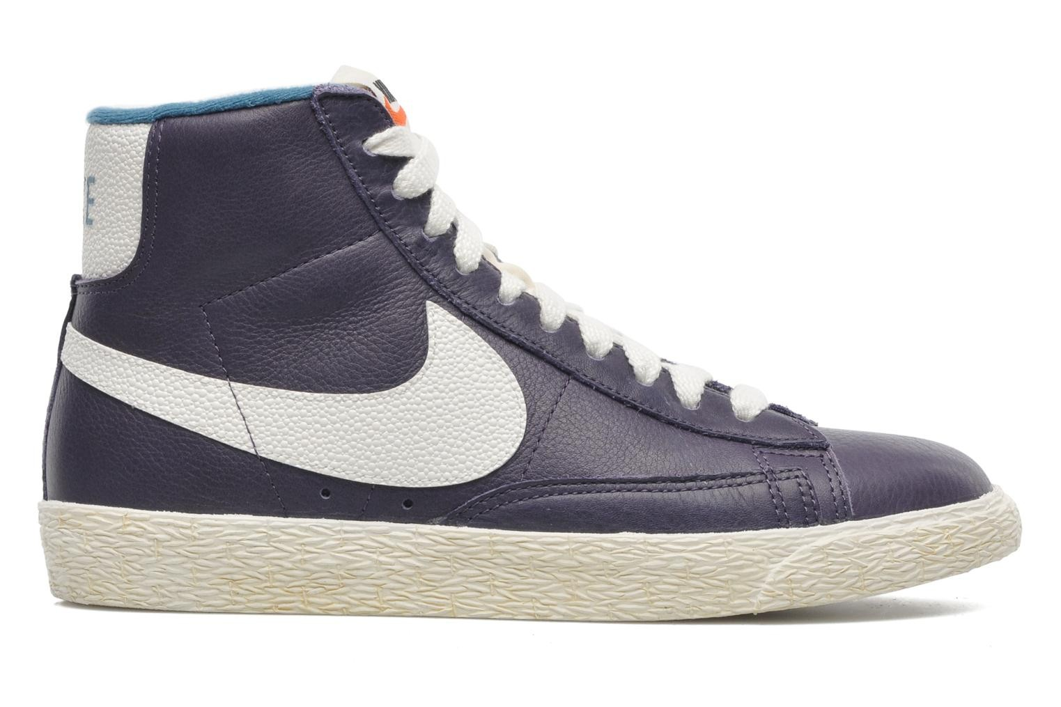 Nike WMNS Blazer Mid Leather (Lthr) Vintage Dark Raisin Sail Sail Riftblue Women's Shoe