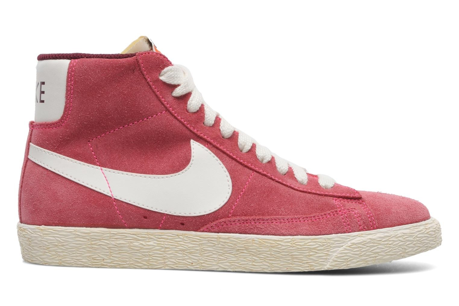nike blazer mid pink high top trainers