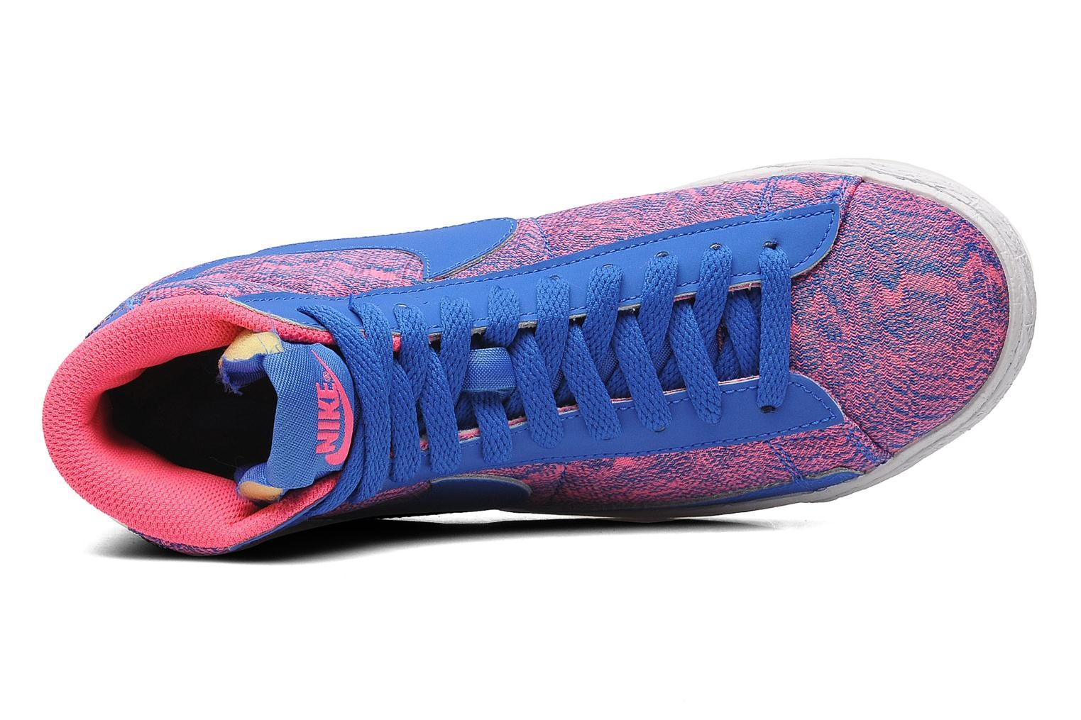 Nike Blazer Mid Vintage (GS) Hyper Pink Hyper Cobalt Deep Royal Blue White Youths Trainers
