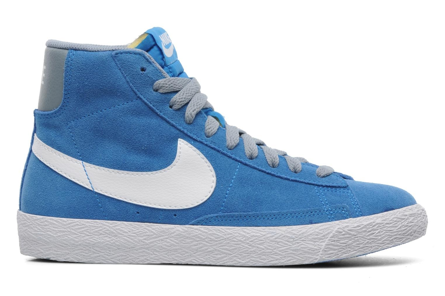 Nike Blazer Mid Vintage Youth Gs Chaussures Gris Bleu Turquoise