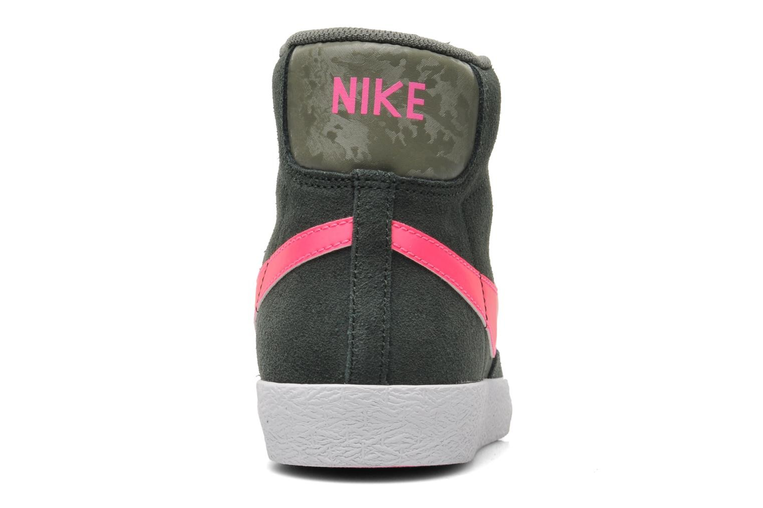 Nike Blazer Mid Vintage (GS) Forest Green Hyper Pink Iron Green Youths Trainers
