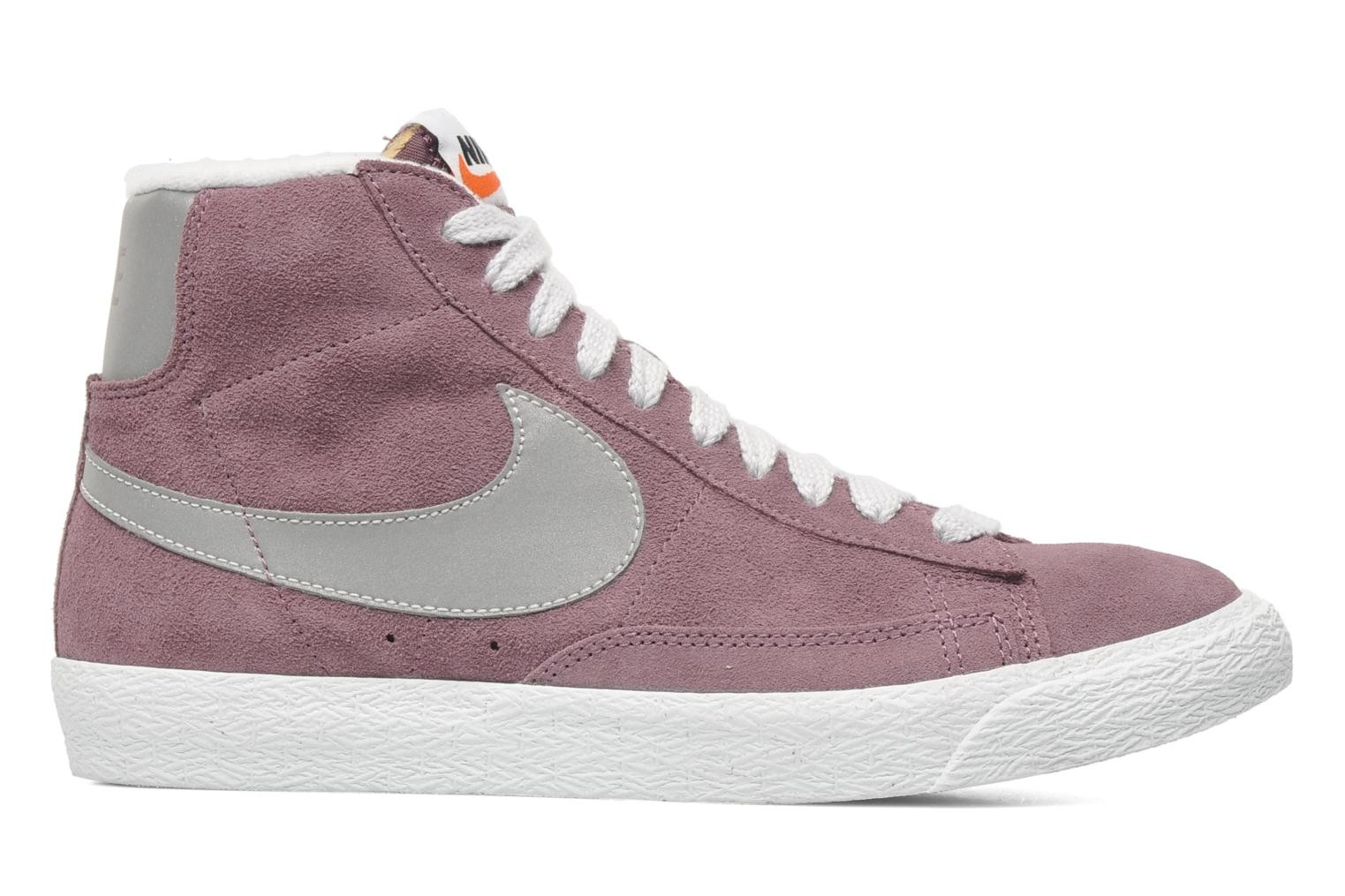 Nike Blazer Mid Prm Vintage Suede Purple Shade Reflect Silver Pure Platinium Men's Shoe