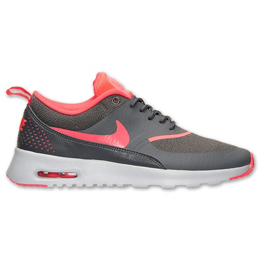 Nike WMNS Air Max Thea 599409 014 Dark Grey Hyper Punch Pure Platinum Women's Shoe