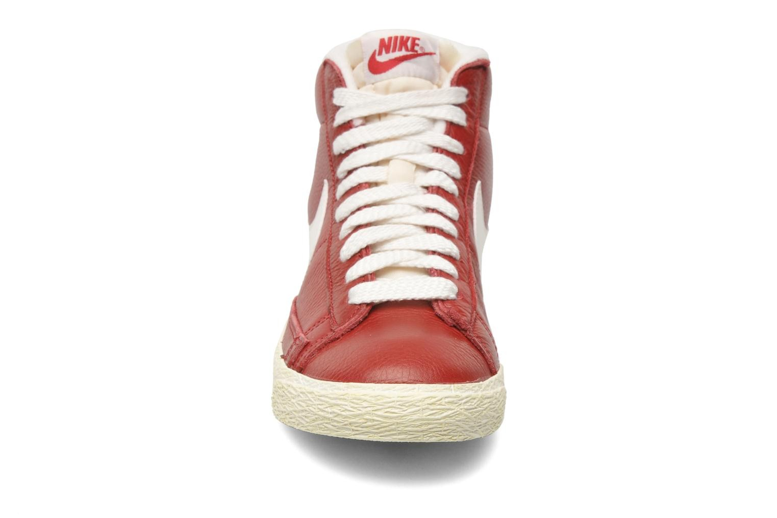 Price  Nike WMNS Blazer Mid Leather Vintage Noble Red Sail  Sneakers