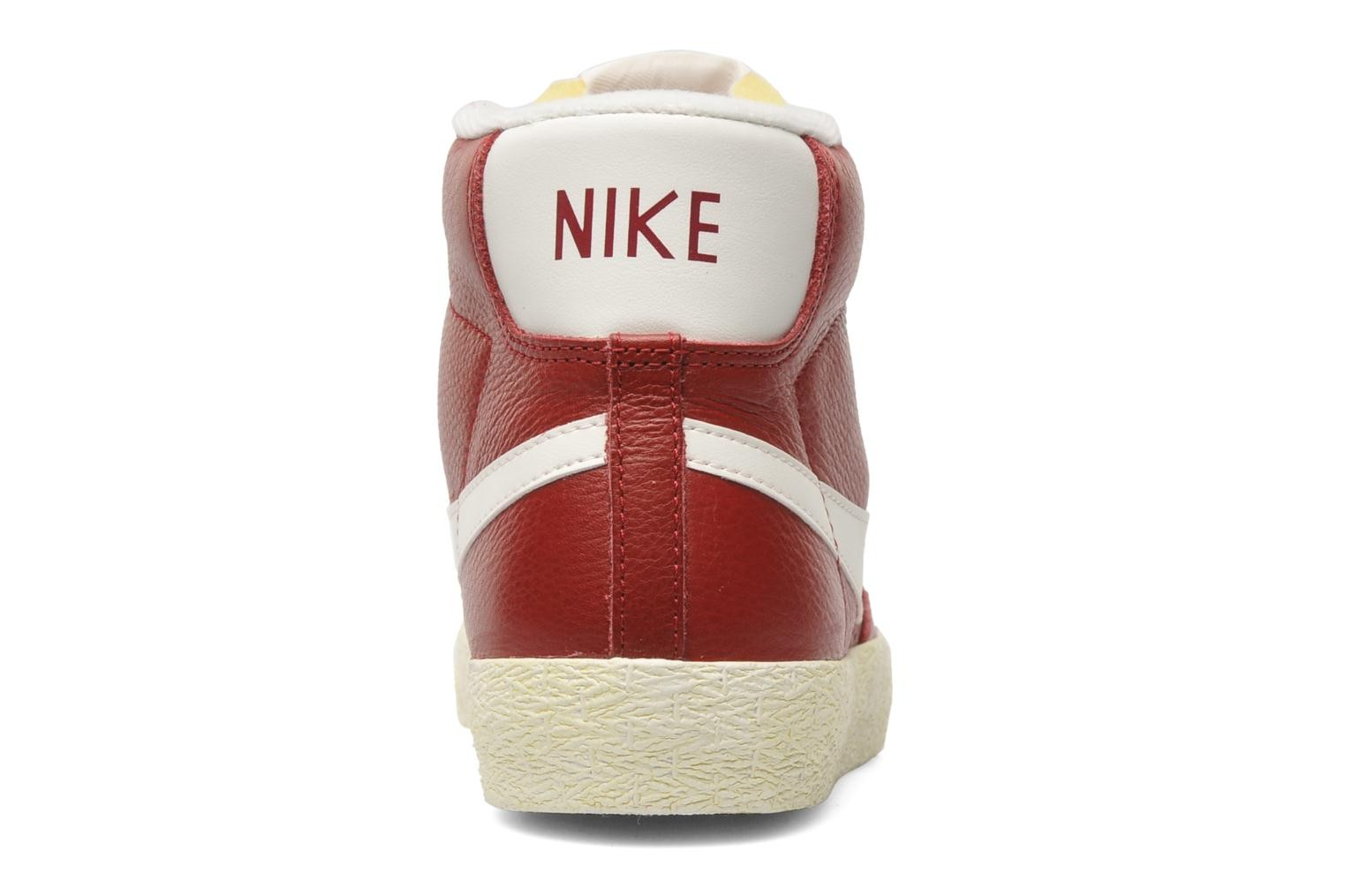 Nike WMNS Blazer Mid Leather Vintage Noble Red Sail Women's Shoe