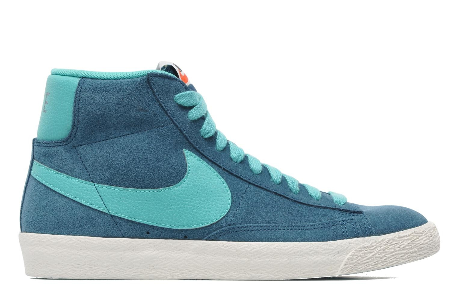 Nike Blazer Mid Prm Vntg Space Blue Hyper Jade Sail Men's Shoe