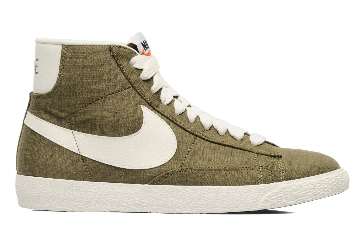 Nike Blazer Mid Prm Vntg Canvas Squadron Green Sail Black Men's Shoe