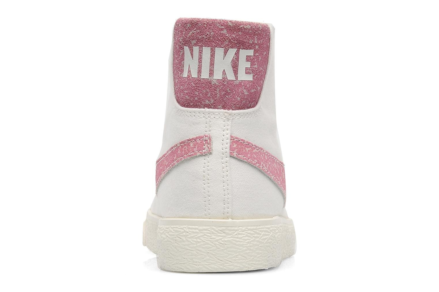 Nike WMNS Blazer Mid Decon Cvs Sail Pink Force Womens High Top Sneakers