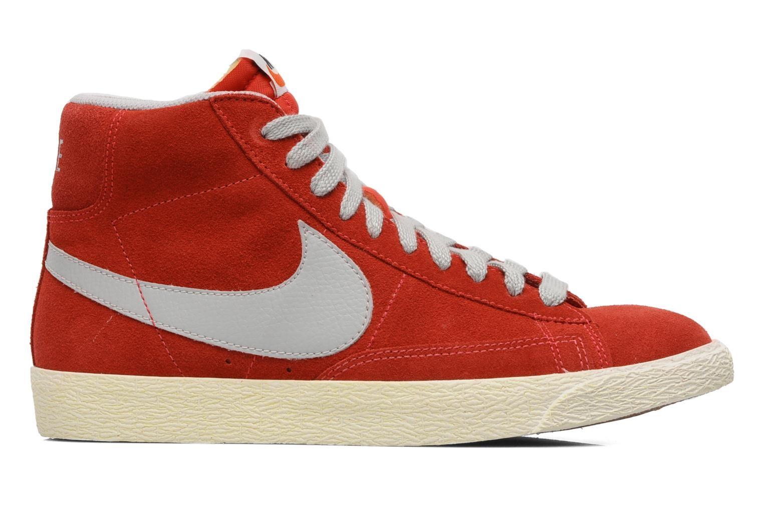 Nike Blazer Mid Prm Vintage Suede Hyper Red Street Grey Gum Med Brown Sail Men's Shoe