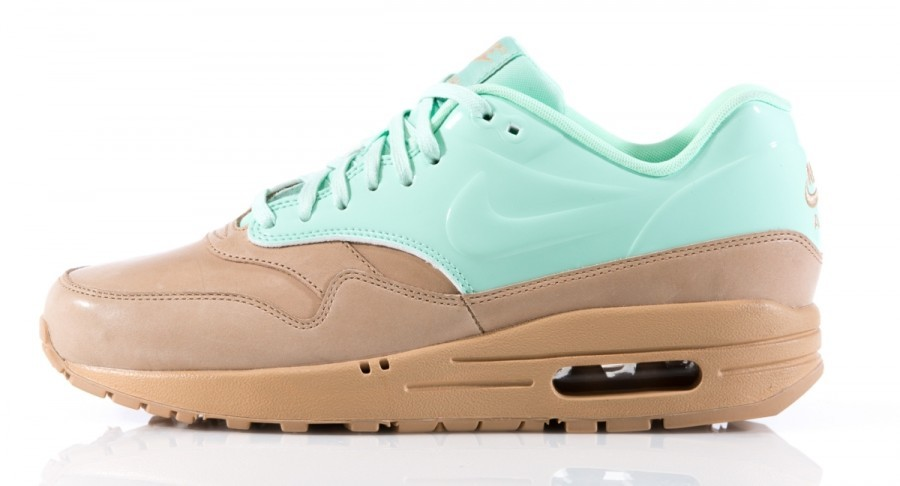 Nike WMNS Air Max 1 VT QS Vachetta Pack 615868-201 Mint Arctic Green Tan Brown Womens Running Shoes